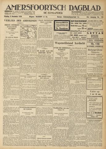 Amersfoortsch Dagblad / De Eemlander 1935-11-12