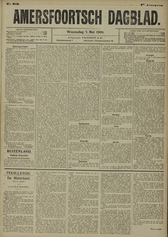Amersfoortsch Dagblad 1909-05-05