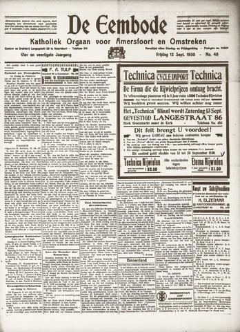 De Eembode 1930-09-12