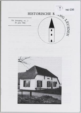 Historische Kring Leusden 1994-06-30
