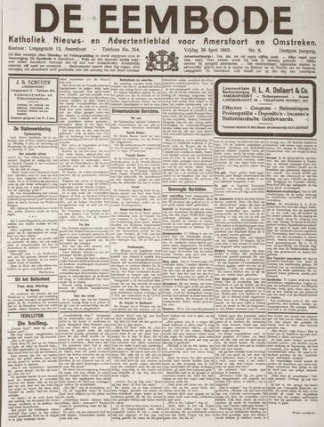 De Eembode 1916-04-28