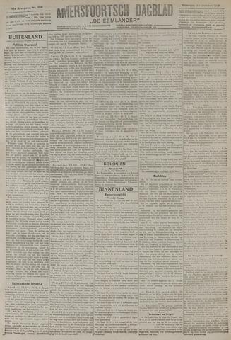 Amersfoortsch Dagblad / De Eemlander 1919-10-27