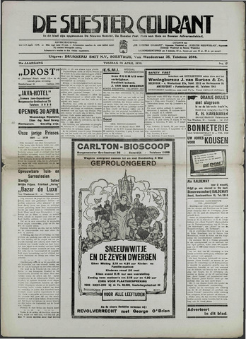 Soester Courant 1939-04-28