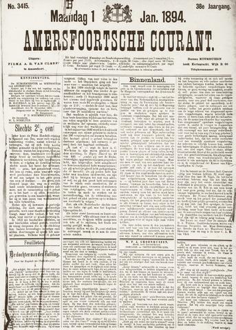 Amersfoortsche Courant 1894