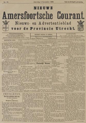 Nieuwe Amersfoortsche Courant 1906-11-03