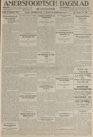 Amersfoortsch Dagblad / De Eemlander 1931-12-18