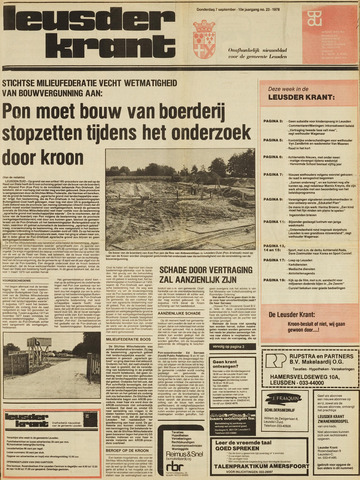 Leusder Krant 1978-09-07