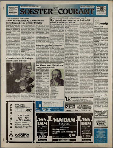 Soester Courant 1986-01-22