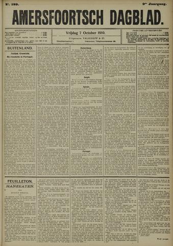 Amersfoortsch Dagblad 1910-10-07