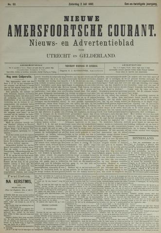 Nieuwe Amersfoortsche Courant 1892-07-02