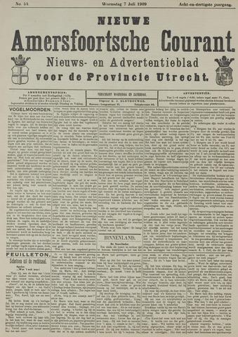 Nieuwe Amersfoortsche Courant 1909-07-07
