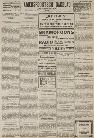 Amersfoortsch Dagblad / De Eemlander 1927-11-09