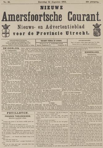 Nieuwe Amersfoortsche Courant 1915-08-14