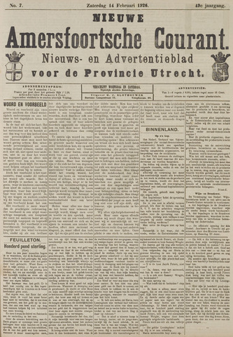 Nieuwe Amersfoortsche Courant 1920-02-14