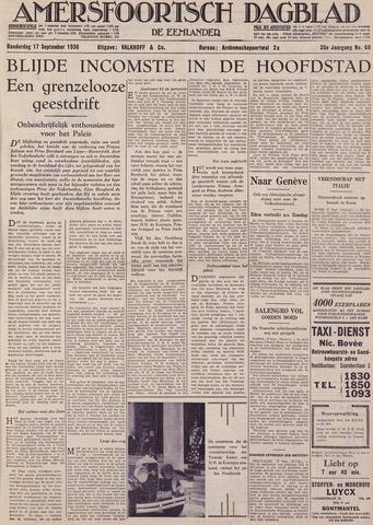 Amersfoortsch Dagblad / De Eemlander 1936-09-17