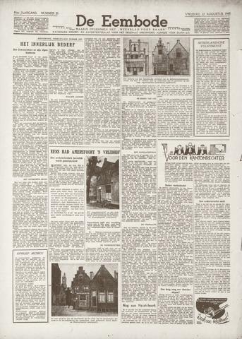 De Eembode 1941-08-22