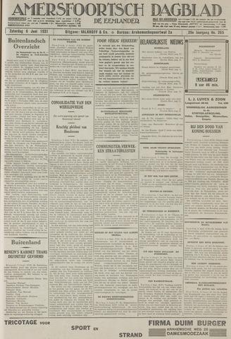 Amersfoortsch Dagblad / De Eemlander 1931-06-06