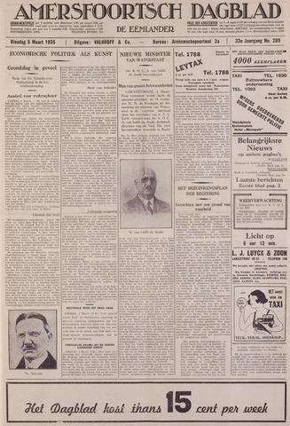 Amersfoortsch Dagblad / De Eemlander 1935-03-05