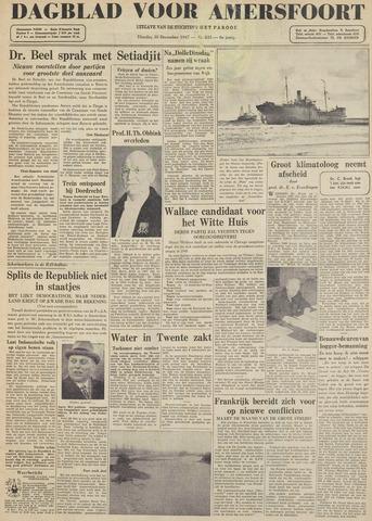 Dagblad voor Amersfoort 1947-12-30
