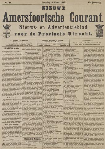 Nieuwe Amersfoortsche Courant 1919-03-08