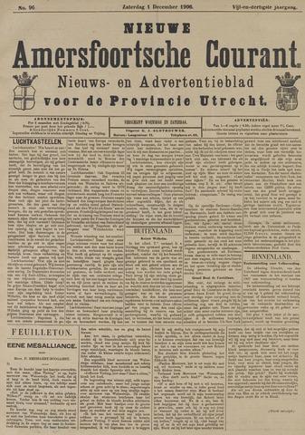 Nieuwe Amersfoortsche Courant 1906-11-01