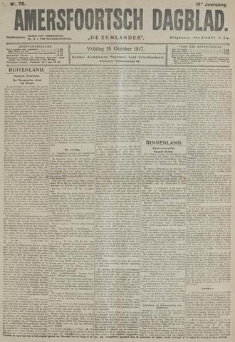 Amersfoortsch Dagblad / De Eemlander 1917-10-19