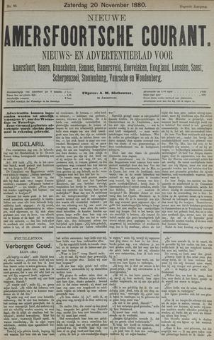 Nieuwe Amersfoortsche Courant 1880-11-20