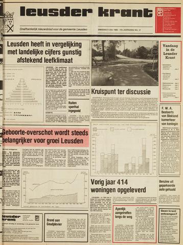Leusder Krant 1985-07-09