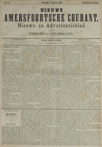 Nieuwe Amersfoortsche Courant 1888-08-01