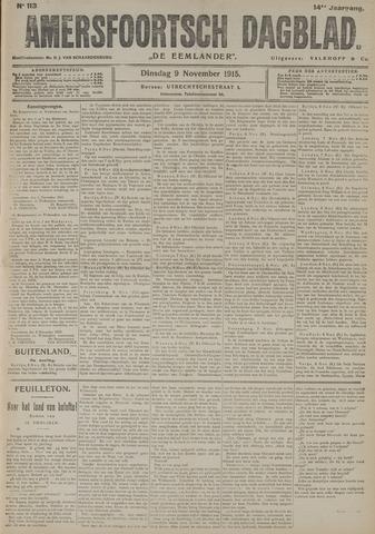 Amersfoortsch Dagblad / De Eemlander 1915-11-09