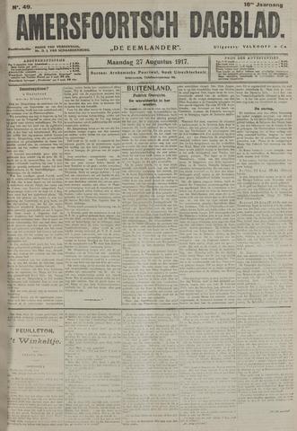 Amersfoortsch Dagblad / De Eemlander 1917-08-27