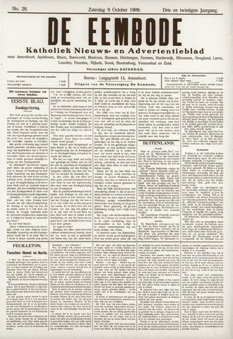 De Eembode 1909-10-09