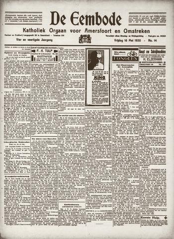 De Eembode 1930-05-16