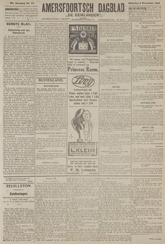 Amersfoortsch Dagblad / De Eemlander 1926-11-08