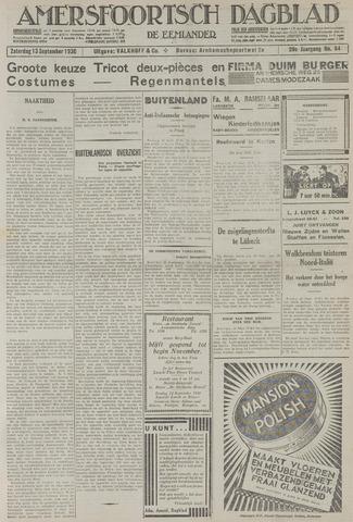Amersfoortsch Dagblad / De Eemlander 1930-09-13