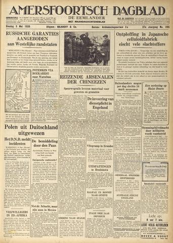 Amersfoortsch Dagblad / De Eemlander 1939-05-09