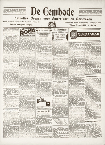 De Eembode 1929-06-21