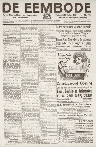 De Eembode 1924-02-29