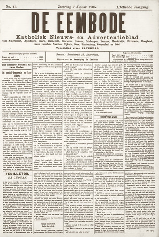 De Eembode 1905-01-07