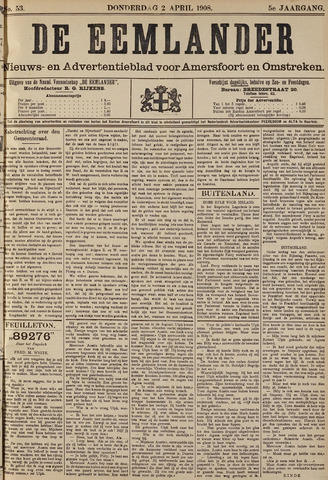 De Eemlander 1908-04-02