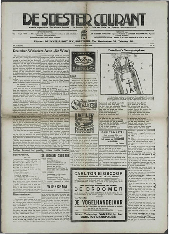 Soester Courant 1936-11-27