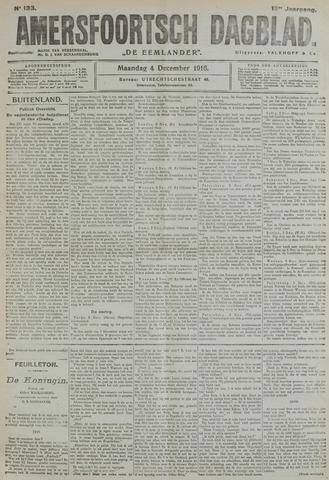 Amersfoortsch Dagblad / De Eemlander 1916-12-04