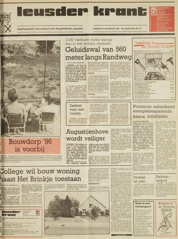 Leusder Krant 1986-08-12