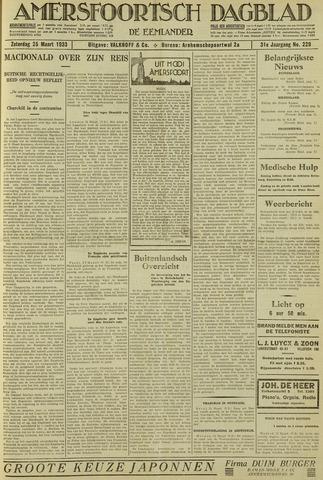 Amersfoortsch Dagblad / De Eemlander 1933-03-25