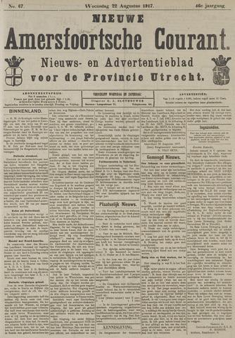 Nieuwe Amersfoortsche Courant 1917-08-22
