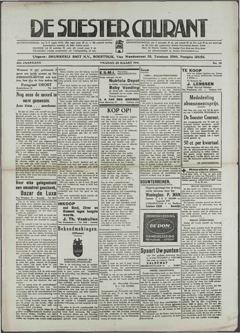 Soester Courant 1941-03-28