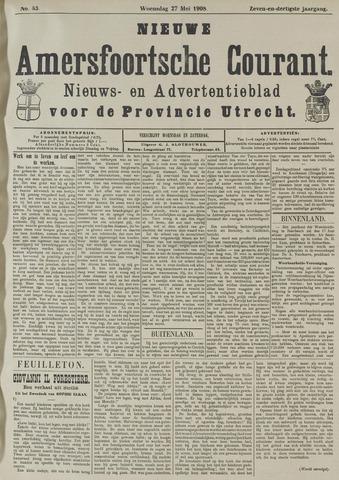 Nieuwe Amersfoortsche Courant 1908-05-27