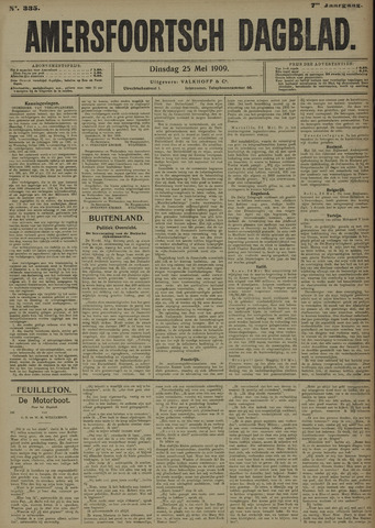 Amersfoortsch Dagblad 1909-05-25