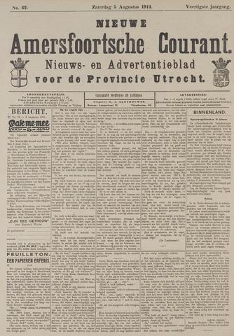 Nieuwe Amersfoortsche Courant 1911-08-05