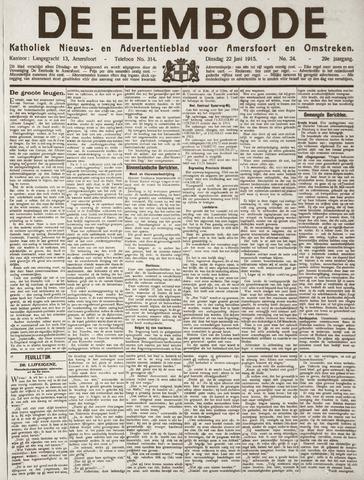 De Eembode 1915-06-22